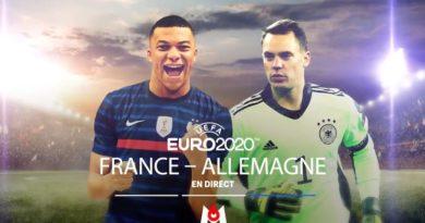 Euro 2020 « France / Allemagne » : suivez le match en direct, live et streaming ce soir sur M6 (score en temps réel et résultat final)