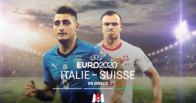 Audiences TV prime 16 juin 2021 : « Italie / Suisse » leader (M6) devant « Esprits criminels » (TF1)
