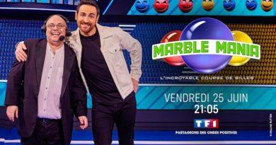 « Marble Mania » c'est ce soir sur TF1 avec Camille Combal et Yoann Riou (vendredi 25 juin 2021)