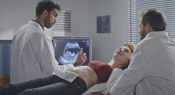 Plus belle la vie en avance : l'échographie de Léa (vidéo PBLV épisode n°4310)