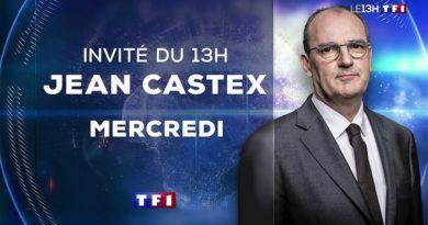 Jean Castex invité du 13h de TF1 le 21 juillet