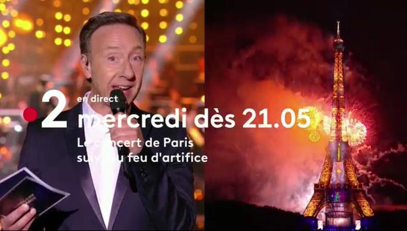 Le Concert de Paris et le feu d'artifice : ce soir sur France 2 (mercredi 14 juillet 2021)