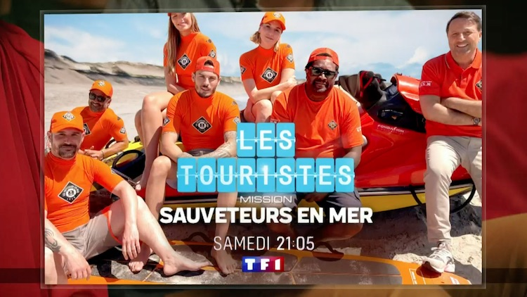 « Les Touristes : mission sauveteurs en mer »