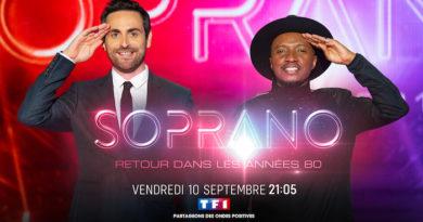 """""""Soprano : retour dans les années 80"""" avec Camille Combal le 10 septembre sur TF1"""