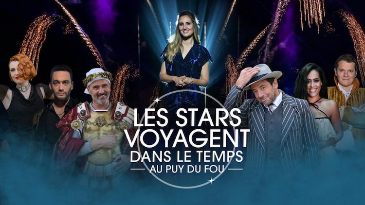 « Les stars voyagent dans le temps au Puy du Fou »