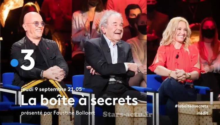 « La Boîte à Secrets » du 9 septembre 2021