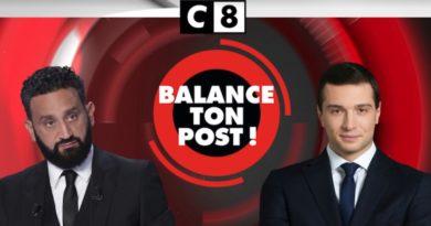 « Balance ton post » du 30 septembre 2021 : Cyril Hanouna reçoit Jordan Bardella