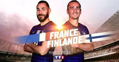 « France – Finlande » en direct, live et streaming ce soir sur TF1 et MYTF1 (score en temps réel et résultat final)