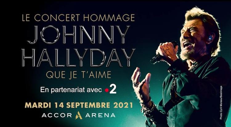 « Johnny Hallyday - Que je t'aime »