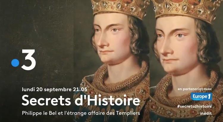 « Secrets d'histoire » du 20 septembre 2021.