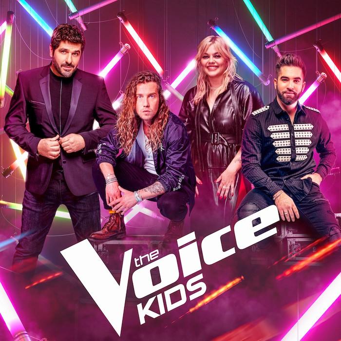 The Voice Kids de retour en 2022 avec Louane, Julien Doré, Kendji et Patrick Fiori