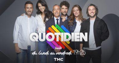 Audiences tv : Quotidien signe sa meilleure semaine depuis la rentrée !